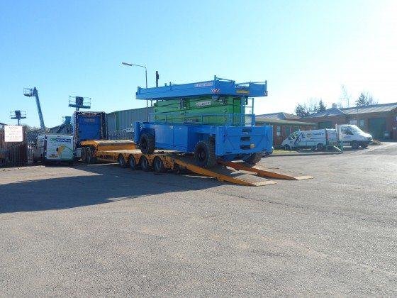 25m Combistar Diesel Scissor Lift (HL-275)