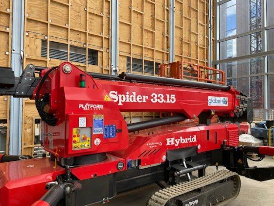 33m Spider Lift